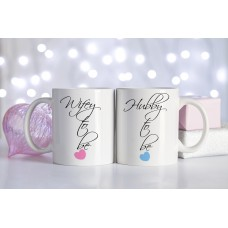 Wifey to be or Hubby to be Ceramic Mug